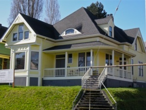 This 122 year old Capitol Hill jewel at 18th and Denny was put on the market and purchased by a developer. It is about to be destroyed to make way for a building that is out of scale with the neighborhood, thanks to the 2010 land use code change.